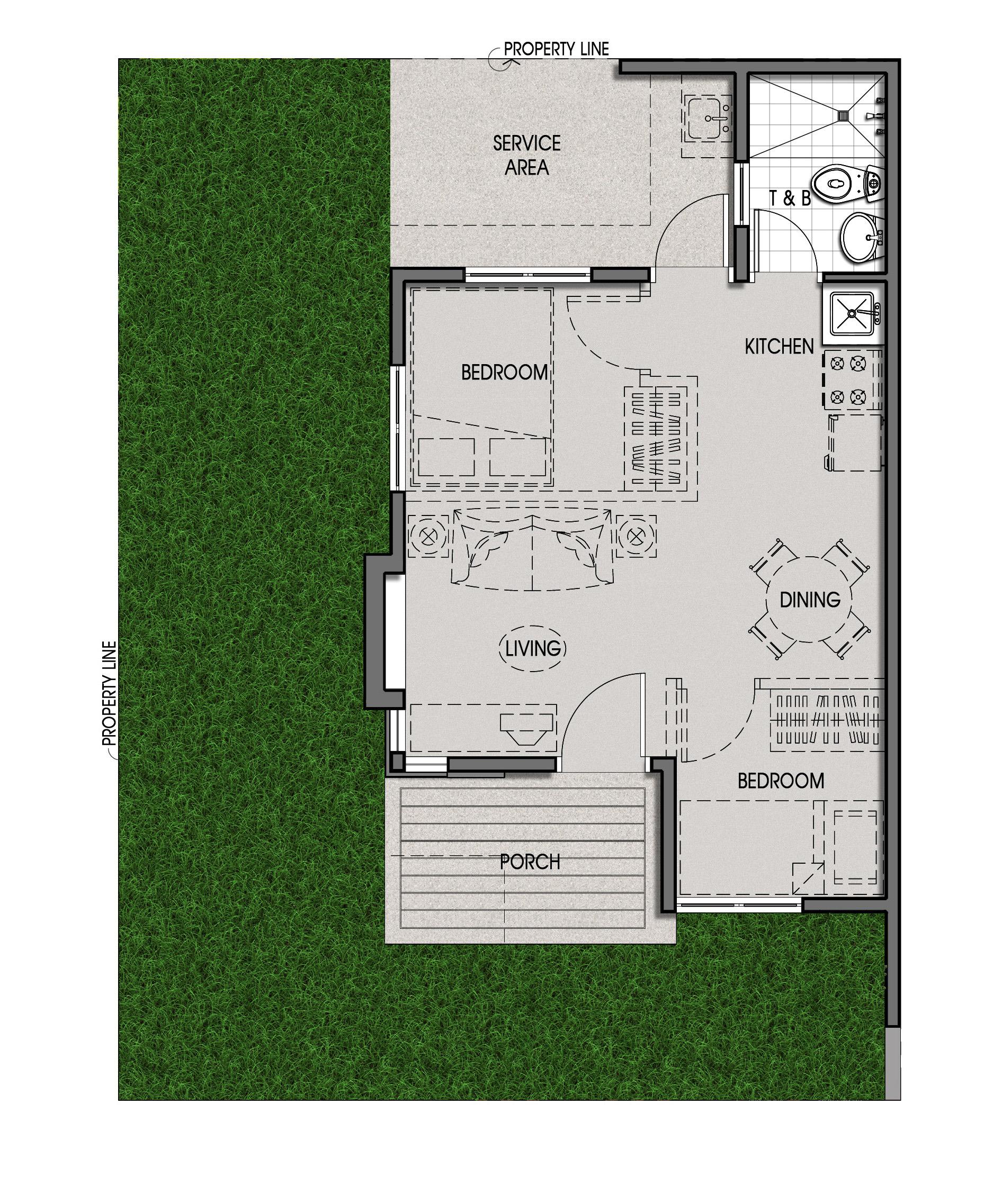 Amaia Scapes Iloilo Unit Floor Plan